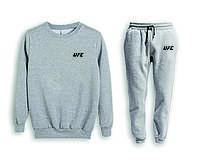 Мужской спортивный костюм, чоловічий костюм (свитшот+штаны) UFC S701, Реплика