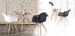 Кресло Salex FB Wood Patchwork черно-белый, фото 8