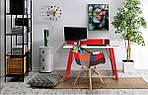 Кресло Salex FB Wood Patchwork черно-белый, фото 9