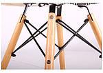 Кресло Salex FB Wood Patchwork черно-белый, фото 5