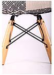 Кресло Salex FB Wood Patchwork черно-белый, фото 6