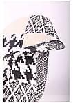 Кресло Salex FB Wood Patchwork черно-белый, фото 7