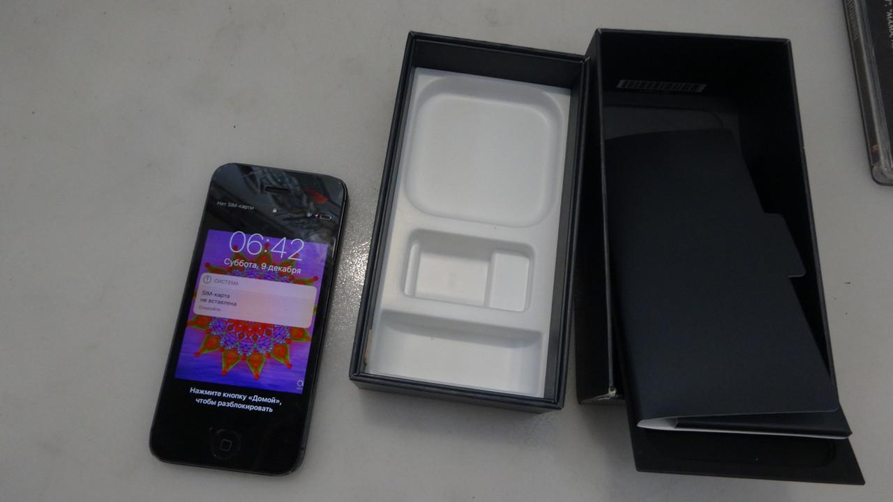 Iphone 5 16gb черный, забыт код №229