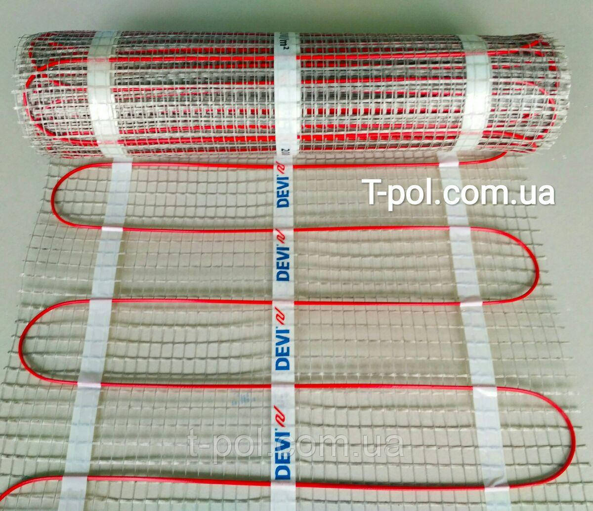 Теплый пол Devi нагревательный мат devicomfort dtir-150t на 10 м2