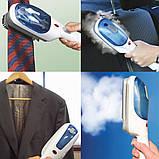 Ручной отпариватель для одежды Tobi , паровой утюжок, паровая щетка, фото 3