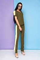 Брючный костюм-двойка в 5ти цветах JD Марти, фото 1