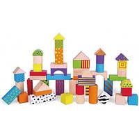 Набор кубиков 50 шт Viga Toys 59695