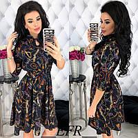 Женское модное платье  ФР393, фото 1