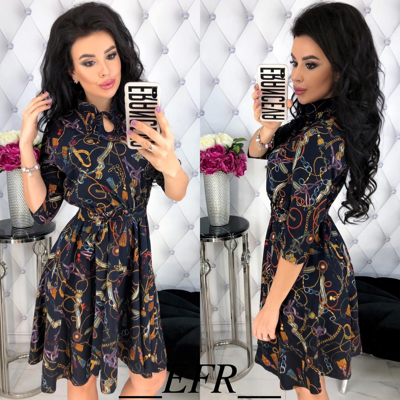 Женское модное платье  ФР393