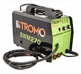 Зварювальний інверторний напівавтомат Stromo SW270 MIG+MMA (2 в 1) + Зварювальний маска Форте MC-1000 (хамелеон), фото 2