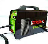 Зварювальний інверторний напівавтомат Stromo SW270 MIG+MMA (2 в 1) + Зварювальний маска Форте MC-1000 (хамелеон), фото 4