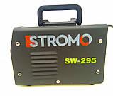 Зварювальний апарат інверторний Stromo SW-295 (дисплей + кейс) . Зварювання Стромо, фото 7