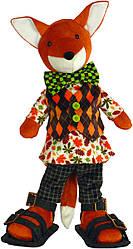 Набор для шитья Новая Слобода Мягкая игрушка 40см Хитрый лис М3020