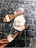 Женские сандалии из натуральной кожи розового цвета BREAK-IN POWDER LEATHER, фото 3