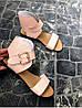 Женские сандалии из натуральной кожи розового цвета BREAK-IN POWDER LEATHER, фото 5