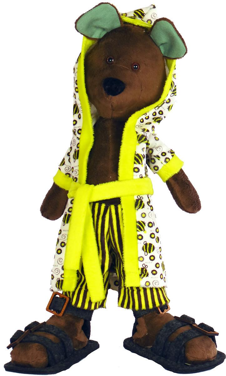 Набір для шиття Нова Слобода М'яка іграшка 40см Мишуля-Чистюля М3031