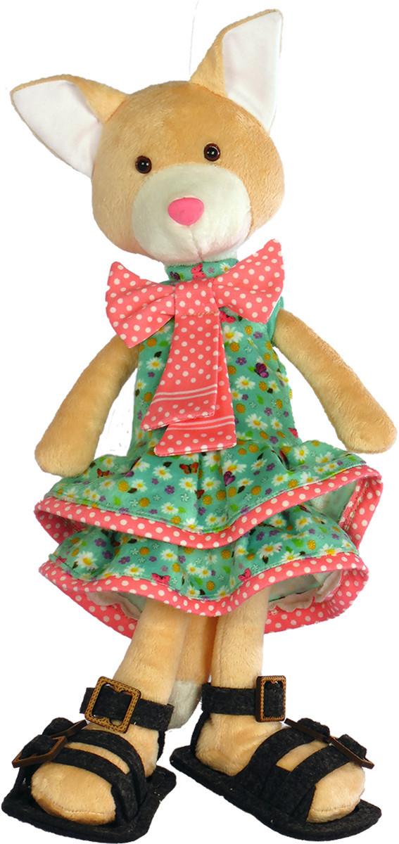 Набор для шитья Новая Слобода Мягкая игрушка 40см Кошечка Светка-кокетка М3048