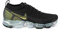 Оригинальные кроссовки Nike Air VaporMax Flyknit 2.0 Black Gold (ART. 942842 015)
