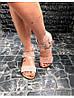 Женские сандалии из натуральной замши пудрового цвета BREAK-IN POWDER SUEDE, фото 2