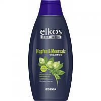 Мужской шампунь для волос Elcos For Men Hopfen & Meersalz 500ml Элкос пр. Германия 01111