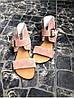 Женские сандалии из натуральной замши пудрового цвета BREAK-IN POWDER SUEDE, фото 4