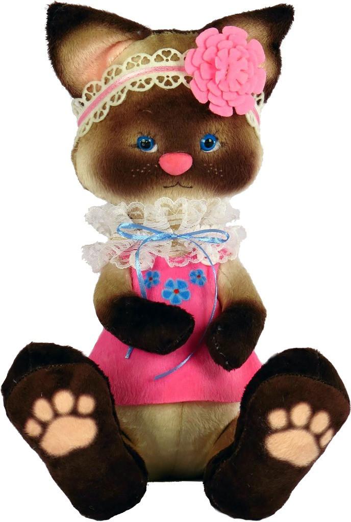 Набір для шиття Нова Слобода М'яка іграшка 40см Сіамський котик М4009