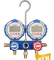 Электронный коллектор двухвентельный VALUE VDG 2 S1 (R 22,32,290,410,1234,134,404,407,507) c шлангами