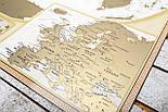 Скретч карта світу My Antique Map ENG Постер з прапорами у подарунок! Найдетальніша скретч карта в античному стилі, фото 8