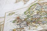 Скретч карта світу My Antique Map ENG Постер з прапорами у подарунок! Найдетальніша скретч карта в античному стилі, фото 10