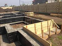 Фундамент здания (монолитные работы)