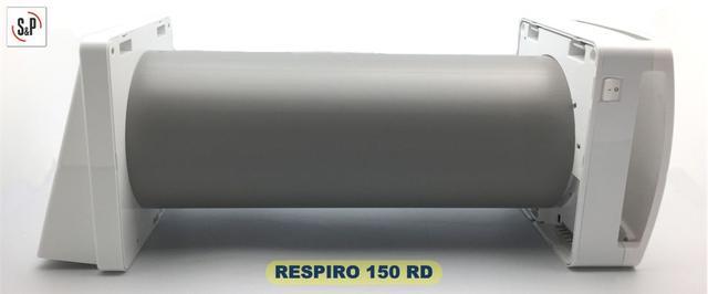 Soler&Palau RESPIRO 150 RD - фото рекуператора с ИК пультом ДУ