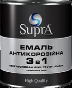 Грунт-емаль 3 в 1 алкідно-уретанова Supra ЯНТАР біла 2,5 кг   /6шт/