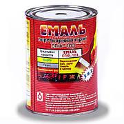 Емаль перетворювач іржі ЕПФ-103 ЧЕРНІВЦІ срібляста 0,9 кг   /12шт/
