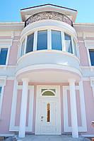 Отделка фасадов зданий декоративной штукатуркой