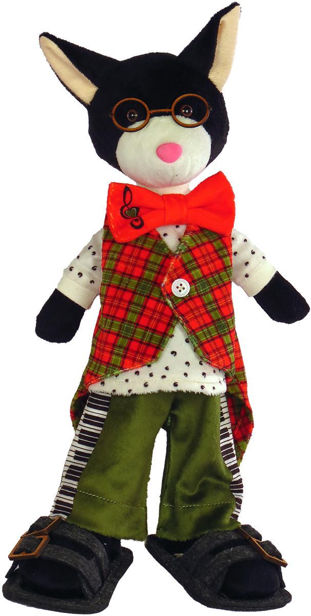 Набір для шиття Нова Слобода М'яка іграшка 40см Кіт Віртуоз М3023