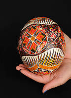 Пысанка из страусиного яйца, фото 1