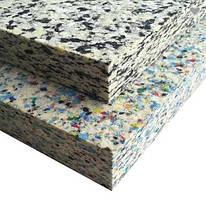 Поролон мебельный ВВ 60 (вторичного вспенивания) размер 200*120 см
