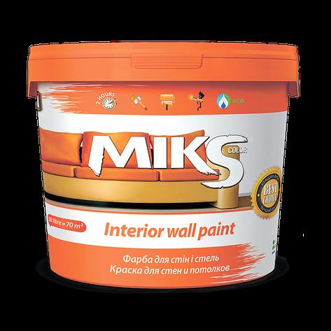 Фарба для стін і стель МІКС 7 кг, фото 2