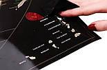 Черная скретч карта мира My Map Black Edition серебристый скретч-слой + Постер с флагами в подарок!, фото 7