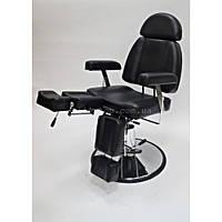 АКЦИЯ!!!.Кресло-кушетка для педикюра CH-227B Цвет: чёрный.
