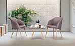 Кресло Франческо DC-1733 бук/серый, фото 9