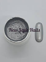 Гель-краска для ногтей UK.Nail №06 цвет серебро 7 грамм