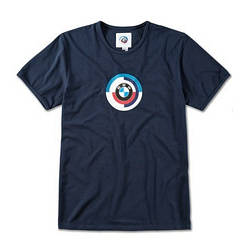 Оригинальная мужская футболка BMW Classic Motorsport T-Shirt, Men, Dark Blue