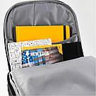 Рюкзак спортивный Kite Sport 560 г 48x35x13 см 20 л Черный (K19-834L-1), фото 4