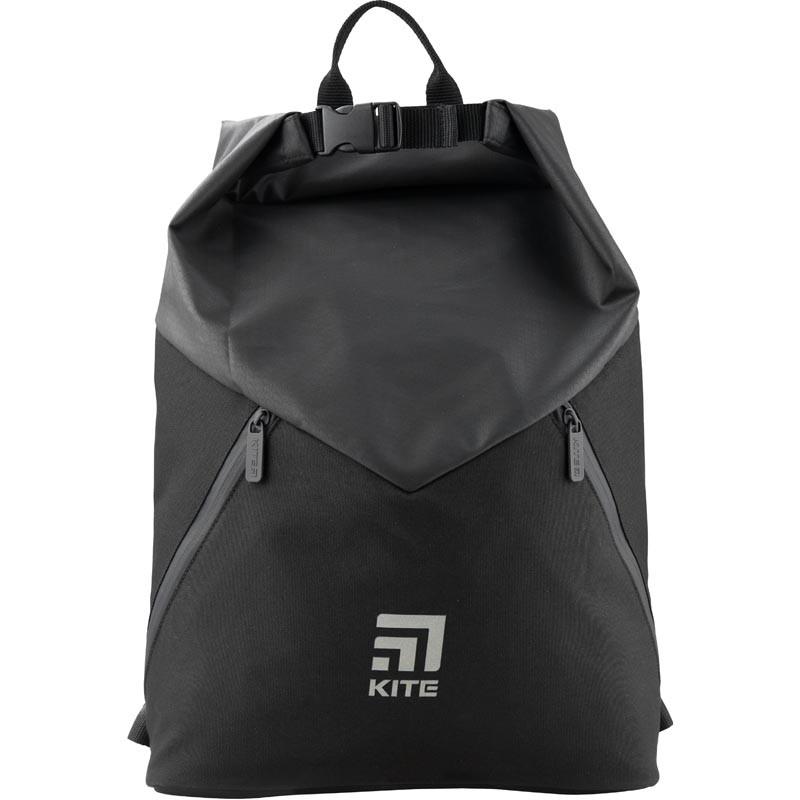 Рюкзак спортивный Kite Sport 385 г 42,5x11,5x32 см 17 л Черный (K19-920L-1)