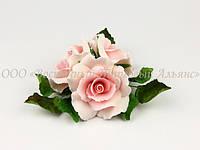 Букет из мастики - Розы светло-розовые ∅160