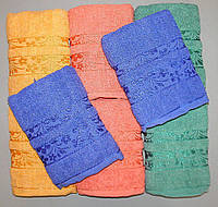Полотенце для рук и лица махровое 95х45 см (Q-417)