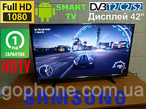 "Телевизор Samsung 42"" Smart TV FullHD/DVB-T2/DVB-С ГАРАНТИЯ!"