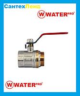 Кран Кульовий 1-1/4 Water Pro DN 32 PN 20 ГШР