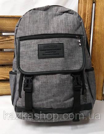 Спортивный прочный рюкзак из непромокаемого материала, на 3 отдела, фото 2